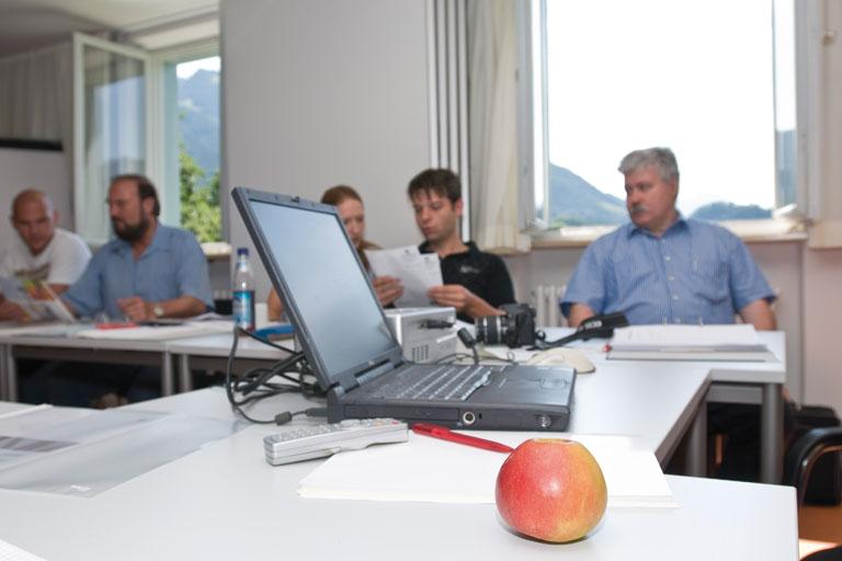 arbeitsgruppe in achatswies, foto: bernhard lang