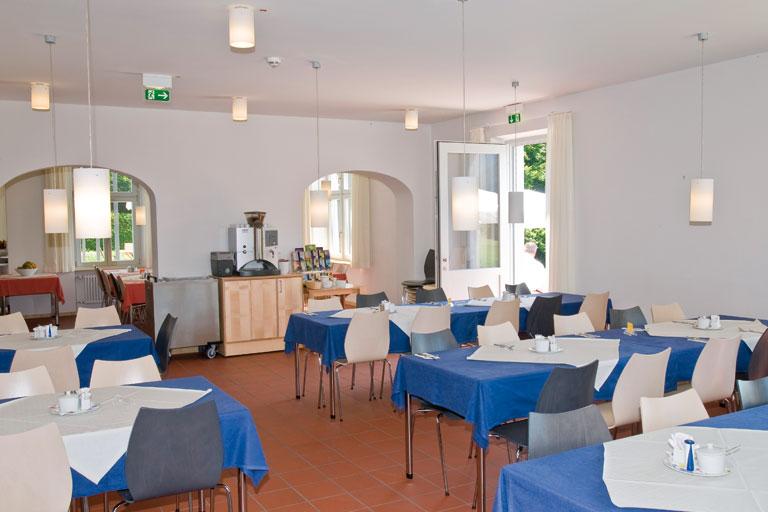fruehstuecksraum - bildungshaus achatswies, foto: bernhard lang