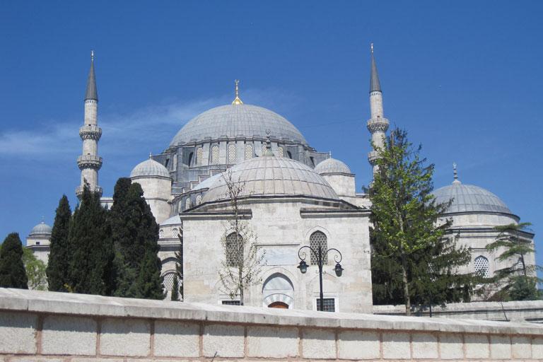 internationaler austausch, blaue moschee in istanbul, foto: paedagogisches institut