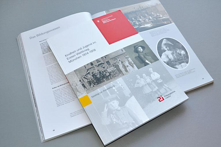 katalog kindheit und jugend im ersten weltkrieg, foto: paedagogisches institut