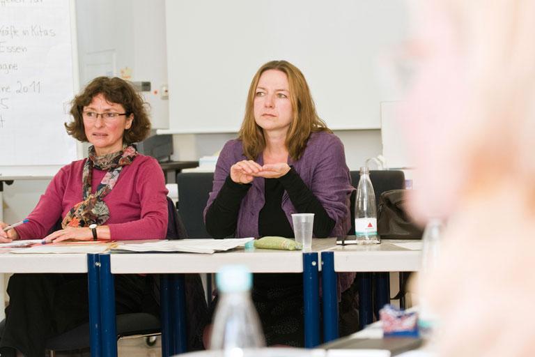 fortbildung - diskussion im pi-zkb, foto: bernhard lang