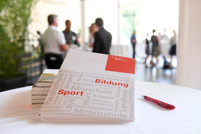 8. Münchner Bildungskonferenz Kongresshalle 05.07.2018 Referat für Bildung und Sport der Landeshauptstadt München Foto: Tobias Hase/ FaRo / LHM RBS