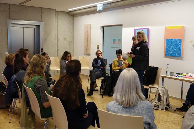 arbeitskreis non-formales lernen kinder und Jugend bei der auftaktveranstaltung zur konzeption bildung fuer nachhaltige entwicklung am 05-11-2019, foto: rbs