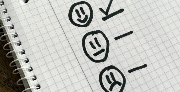 Fragebogen Smileys
